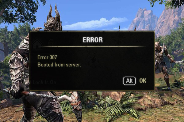 Eso Error 307 Booted From Server – 3 Solutions To Fix It!