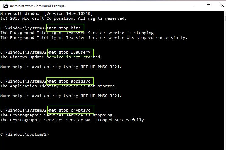 How To Fix The Error Potential In Windows 10 Update Database error detected